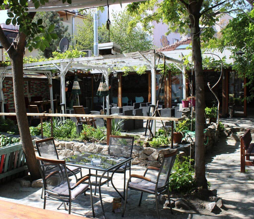 bar fabric beer garden
